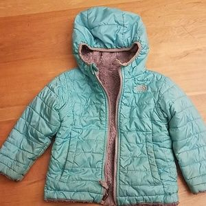 North face toddler girls coat 2t